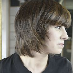 Diagnosis #relooking Eloa by Christophe-Nicolas Biot  	hair is flat and thin 	colour, brown with no depth   Cut : layered and tapered all ... http://www.livecoiffure.com/en/posts/20406-diagnosis-relooking-eloa