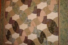 Green and Cream Custom Quilts by ERA Boutique by ERABoutique1, $225.00