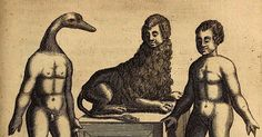 'De Monstris' - illustrations on abnormality and nature by an Italian 16th century philosopher.