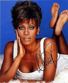 WHITNEY #HOUSTON 8x10 Music/Musician/Band Photo Signed In-Person  UACC Registered Autograph Dealer #192   100% Authentic Autographs Guaranteed for Life   Certificate of Authenticity (COA) provided   We never sell 'pre-prints' or computer generated photos   In stock and ready to ship!