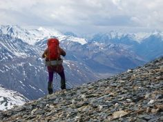 Guided #hiking and #camping in #Alaska's backcountry with Alaska Alpine Adventures  #travel