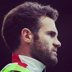 Louis van Gaal has hinted Juan Mata will start for MUFC against Everton on Sunday. 5.10.2014.