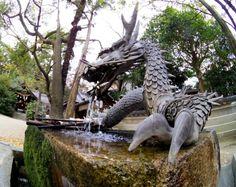 六甲八幡神社 龍の手水舎|六甲道ブログ
