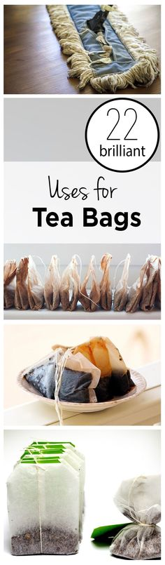 How to Reuse Teabags, Things to Do With Teabags,  Repurpose, Repurpose Hacks, Home Repurpose Hacks, Popular, Teabags.