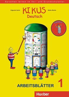 Hueber KIKUS Deutsch / Arbeitsblätter 1 (3 bis 5 Jahre) Kindergarten, Baseball Cards, Learning, Pdf, Products, Homework, Learn Languages, Elementary Schools, Parents