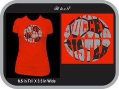 Soccer Sister Glitter T-Shirt