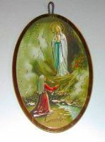Wall Plaques using Special Gold Foil Techniques and Wall Plaque depicting the Apparitions, Holy Family, the blessed Virgin Mary with Hold Child along with many more. Gift Of Faith, Our Lady Of Lourdes, The Cross Of Christ, Catholic Gifts, Last Supper, Blessed Virgin Mary, Wall Crosses, Holy Family, Wall Plaques
