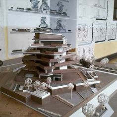 Architecture Models, Architecture Design, Jennifer Lawrence, Thesis, Scale Models, Apartments, Concept, Landscape, Abstract