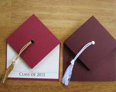 Items similar to Graduation Cap Invitation (small) on Etsy