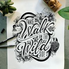 """159 Likes, 9 Comments - Emanuele Ricci (@manuricci_) on Instagram: """"Take a walk on a black and white wild side.  #drawing #illustration #illustrazione #draw #ink…"""""""