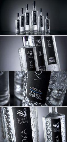 #bebidas #vodka #gin #packaging #design #marketing