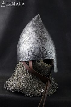 Medieval Knight, Medieval Armor, Larp, Norman Knight, Medieval Helmets, Classical Antiquity, Early Middle Ages, Armor Concept, Suit Of Armor