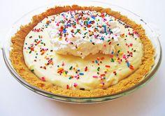 Funfetti Cake Batter Pie