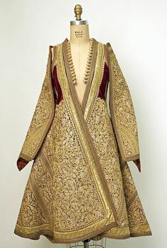 Traditional Albanian Clothing - 19th century Beautiful wedding ensemble embroidered in gold,
