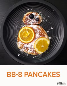 "Roll out of bed and celebrate ""Star Wars: The Force Awakens"" with an epic breakfast adventure featuring our BB-8 pancake recipe! Grab some powdered sugar as well as some fresh fruit, and follow the recipe at Disney Family to transform regular pancakes into a Star Wars breakfast from another galaxy."