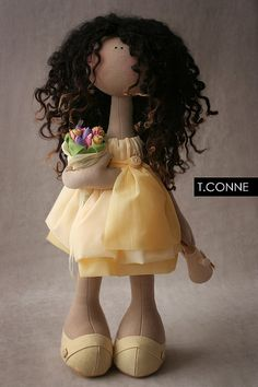 Tatiana Conne handmade doll