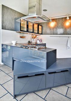 Wow, Cool Kitchen!