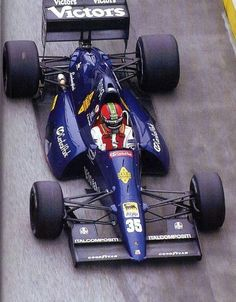 Lamborghini supplied a V12 engine for the Modena Team SpA in 1991 - great looking car, but never competitive