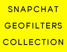 "Check out new work on my @Behance portfolio: ""Snapchat Geofilters Collection"" http://be.net/gallery/48434957/Snapchat-Geofilters-Collection"