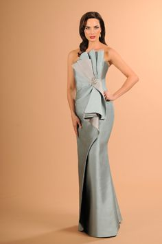 e7811889c58 Daymor Couture Style  613 in clr SeaFoam Bridesmaids And Mother Of The Bride