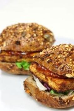 Gut Burgers with Tofu