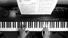 "BACH ""Air in D major"" Piano Version (BWV 1068 ) - YouTube"