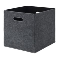 IKEA BLÄDDRA Box Grey 33x38x33 cm Perfect for everything from newspapers to clothes.