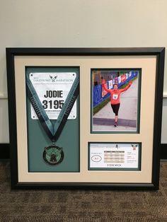 Marathon mementos