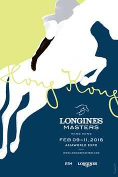 Longines Masters poster series by Sirichai Horse Illustration, Horse Posters, Horse Books, Poster Series, Horse Print, Graphic Design Posters, Bold Prints, Horse Racing, Equestrian
