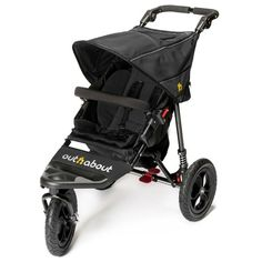 outnabout nipper 360 v4 single with raincover raven black