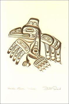 Resultado de imagen para raven in haida culture