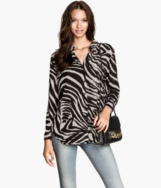 Chiffon Top by HM Zebra