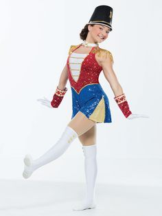 Revolution Dancewear | March of the Toy Soldiers - Style RC17017 #Revolutiondancewear #revolutiondance #dancewear #dancelife #dancerecital #dresses #dance #dresscode #costumes #competition
