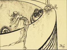 Walt Disney e Salvador Dalí planejaram um curta juntos
