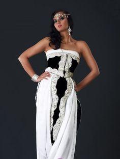 Robe de cocktail style oriental