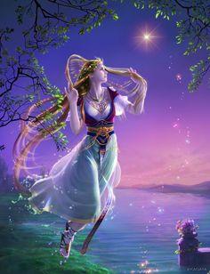 ヴィーナス。 明けの明星・宵の明星として輝く美の女神、金星です。