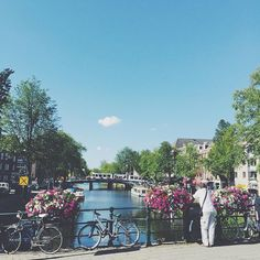"My big tips for travel in #Amsterdam: 1. there's dog poo everywhere so don't walk and text.  2. when buying mineral water they will ask ""gas"" or ""still"" yes it matters. 3. Forget the maps and bring your walking shoes; get lost and don't check the time.  #Netherlands"