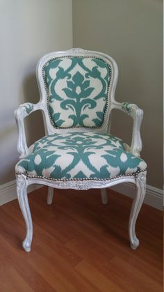 Vintage Victorian Style Arm Chair by ImperialUpholstery on Etsy