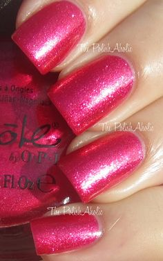 The PolishAholic: Nicole by OPI Selena Gomez Collection scarlett Swatches