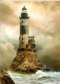 Aniva Lighthouse Sakhalin, Russia