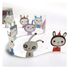 the cutest transparent tape ever! $10.90