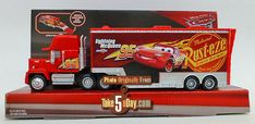 Mattel Disney Pixar CARS 3: New Mack Hauler Bright & Shiny | Take Five a Day