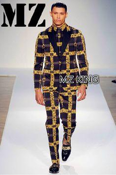 2015 Men's slim singer Male DJ bigbang GD black gray letters suit ...