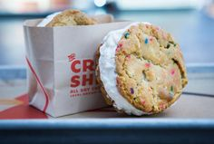 The best ice cream sandwich you will ever find in San Diego.