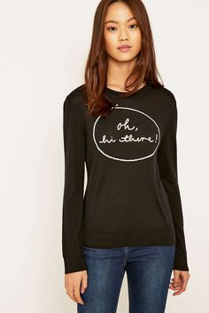 Urban Outfitters Oh Hi There Jumper