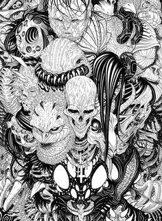In the Dark by Tradd Moore. http://tradd.deviantart.com/