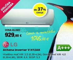 Odlična ponudba: LG klimatske naprave do 37% ceneje!