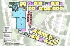Hanson Elementary School: 1st Floor and Space Descriptions