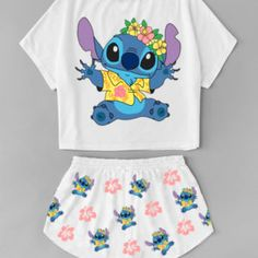 Discover recipes, home ideas, style inspiration and other ideas to try. Cute Disney Outfits, Cute Lazy Outfits, Cute Swag Outfits, Cute Pajama Sets, Cute Pjs, Cute Pajamas, Teen Fashion Outfits, Outfits For Teens, Lelo And Stitch