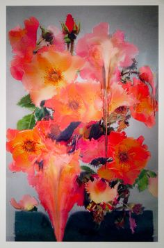 [Sigh. I miss art] Instagram & Florals: Photos From Nick Knight's New London Exhibit